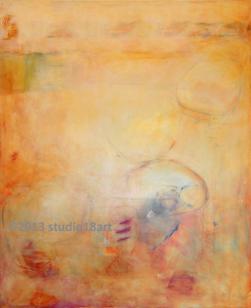 ALOFT...acrylic on canvas...72X48