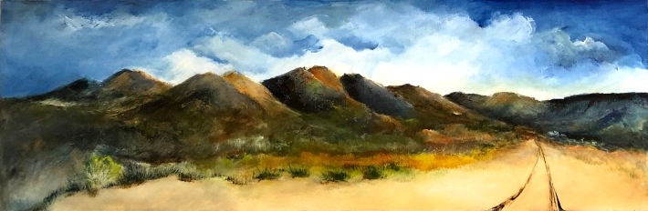 OLD MADRID ROAD...12x36