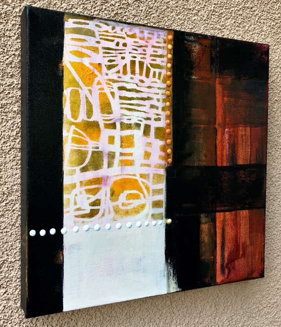 Limited palette abstract painting